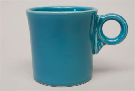 vintage fiesta pottery tom and jerry coffee mug in vintage fiesta tom and jerry mug original turquoise