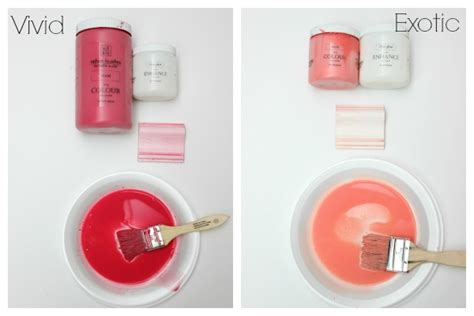 how to make the color coral how to make furniture glaze paint in any color