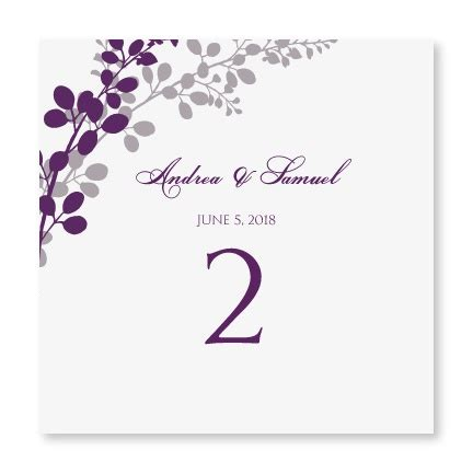 table numbers for wedding template diyweddingtemplates wedding templates exquisite
