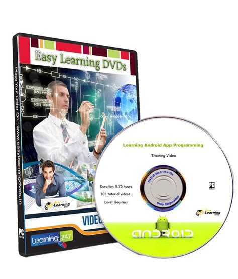 Dvd Tutorial Android learning android app programming dvd by easy learning buy learning android app