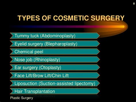 8 Reasons To Avoid Cosmetic Surgery by Plastic Surgery