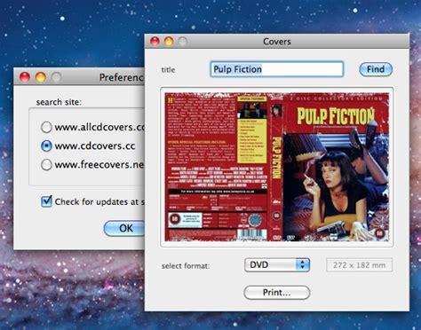 format impression jaquette dvd impression dvd jaquette mac