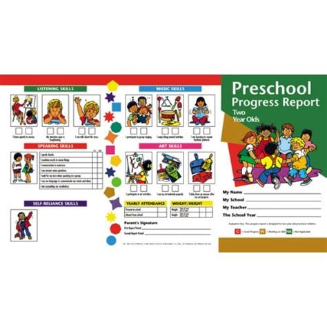kindergarten report card sles kindergarten progress reports h prc3 resources