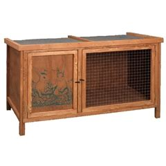 Poppy Den Rabbit Hutch the guinea pig den hutch by pets at home is a purpose built guinea pig home with divided bedding are