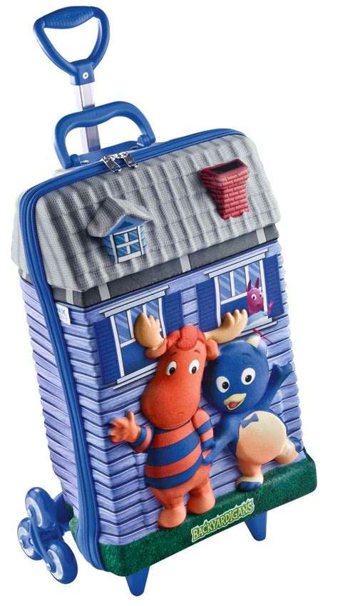 Backyardigans Backpack Rolling Backpack With Backyardigans Theme See It At Http