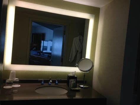 Bathroom Mirrors San Diego Lighted Mirror In The Bathroom Picture Of The Westin San Diego San Diego Tripadvisor