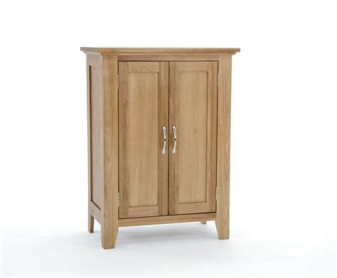 Sherwood Oak Shoe Cupboard   Free Delivery & 50% Off!