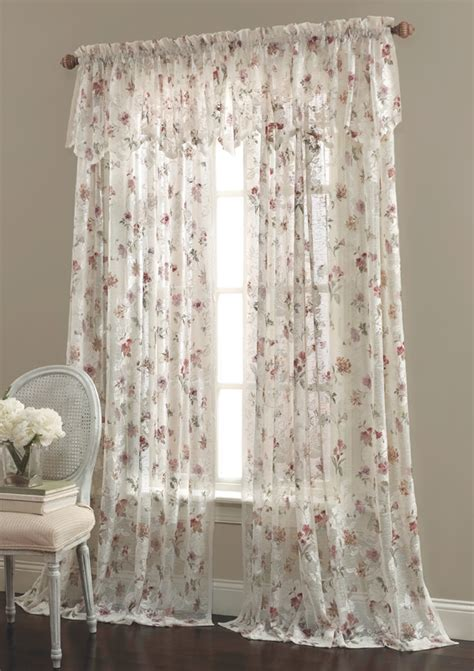lace curtains brewster lace curtain by lorraine home fashions view all
