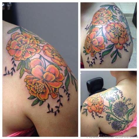 marigold tattoo designs 50 phenomenal marigold flower tattoos