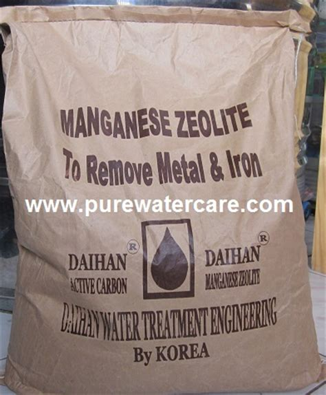 Paket Filter Air Zat Besi Dengan Manganese Zeolite kemasan manganese zeolite