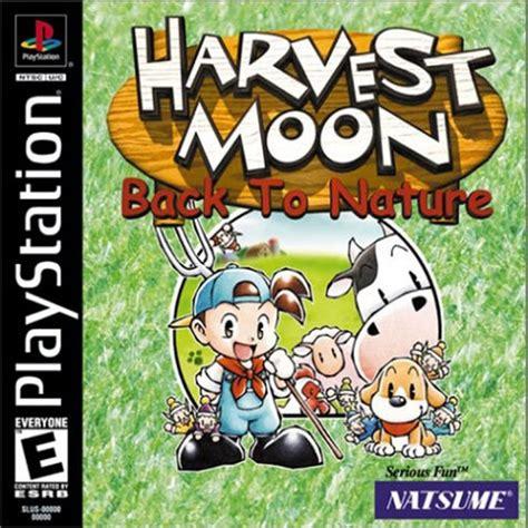 emuparadise harvest moon harvest moon back to nature u iso