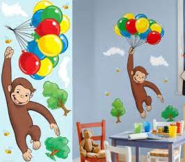 curious george wall decals ideas about bedroom decal ebay