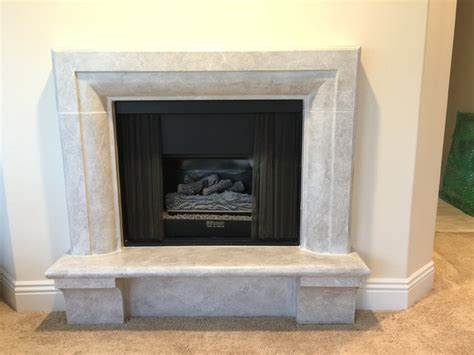 Bedroom Fireplace Surrounds by Fireplace Surround Transitional Bedroom Los Angeles