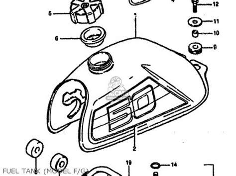 1985 Suzuki Lt50 Parts Suzuki Lt50 1985 F Parts List Partsmanual Partsfiche