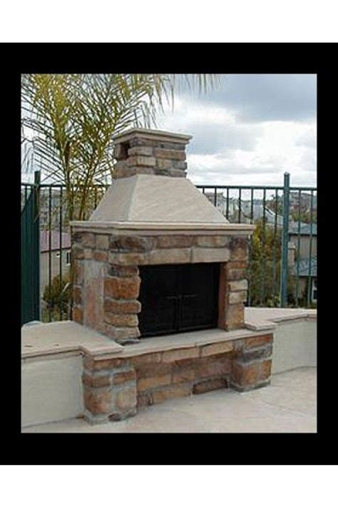 mirage outdoor fireplace mirage one sided outdoor fireplace home