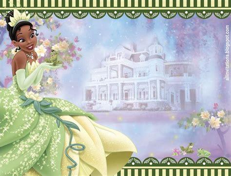 libro princesas princesses olvidadas o plantilla de invitacion de la princesa tiana y el sapo princess tiana