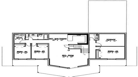 5 bedroom house plans with basement modern 5 bedroom house