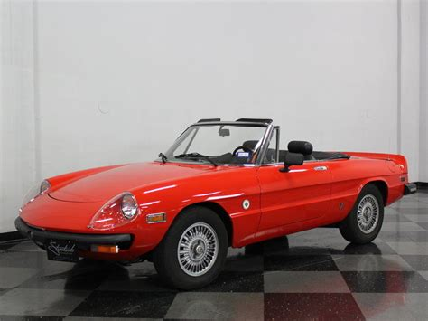 1978 alfa romeo spider for sale 1978 alfa romeo spider niki lauda for sale
