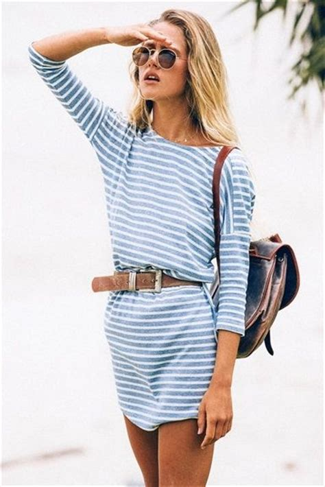 Aw08 With Gallianos by Boho 25 Striped Dresses That Ll Help You Ring In