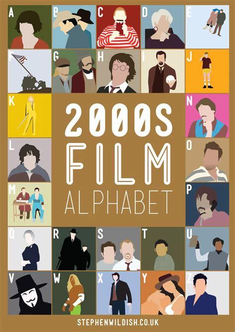 film quiz questions 2000s 2000s film alphabet poster that quizzes your 2000 s movie