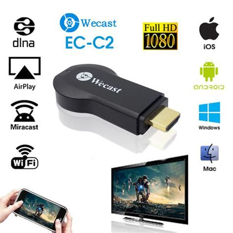 Miracast Screen Mirroring by Android Stick Miracast Dongle Screen Mirroring For Ios