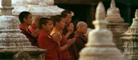 Buddhist Detox Documentary Site by Tibetan Buddhist Monks Prayer Near Swayambunath Stupa