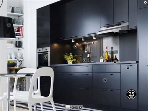 kitchen mat ikea cuisine ikea noir mat decoration interiors and kitchens
