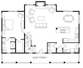 Open Floor Plans With Loft Log Cabin Flooring Ideas Log Home Open Floor Plans With Loft Open Floor House Plans With Loft