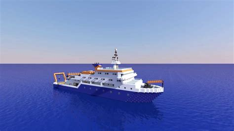 minecraft boat construction minecraft research vessel youtube