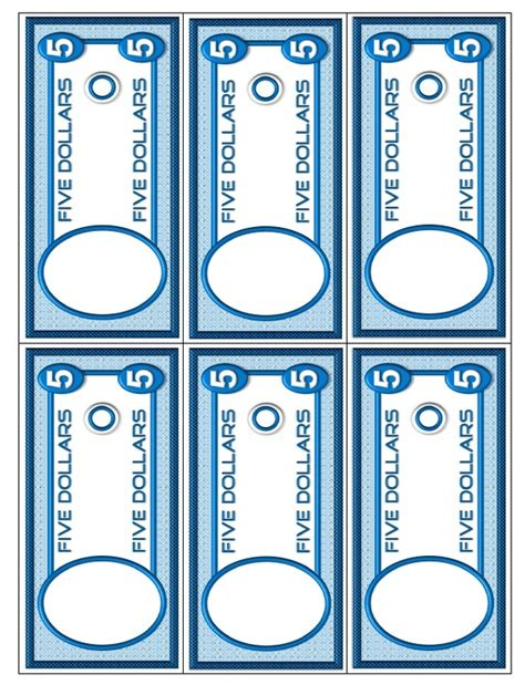 dollar bill template for teachers money activities and worksheets for