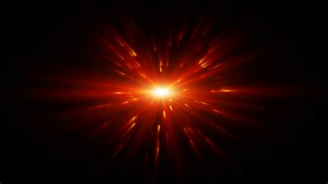 Light flare and particles Motion Background   VideoBlocks
