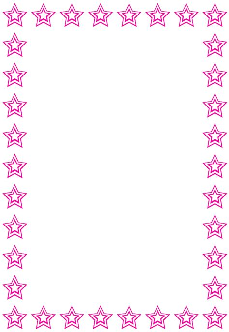 printable star frames frames and borders