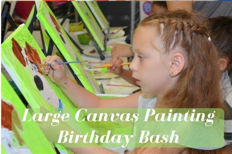 canvas painting classes near me fun and creative kids birthday party place in brooklyn