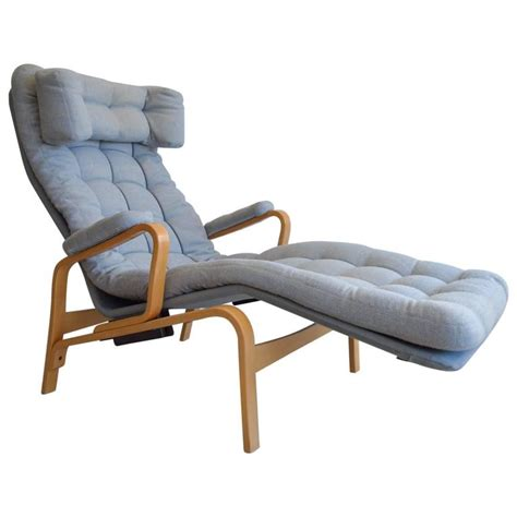 reclining club chairs sam larsson for dux reclining lounge chair for sale at 1stdibs