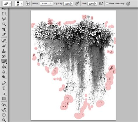 grunge tutorial photoshop cs5 how to create your own grunge brushes in photoshop cs5