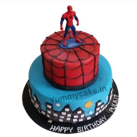 Spiderman Birthday Cake, Spiderman Cake Designs   Yummycake