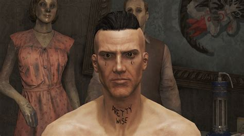 watkin tudor aka ninja face tattoo replacer at fallout 4