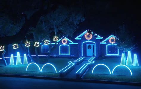 san antonio family s dubstep christmas light show for a