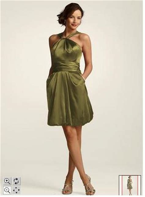 am i the only one going for olive green weddingbee