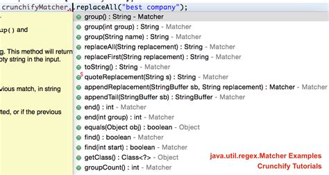 java exle of pattern and matcher all in one java regex matcher pattern and regular