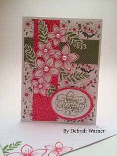 Handmade By Rubber Sts For Cards - stately flowers 4 k designs gorgeous cards and