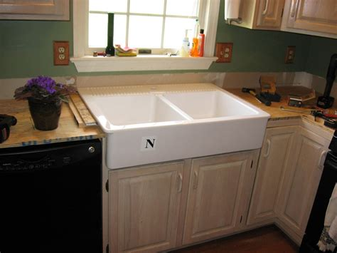 apron front kitchen sink ikea how to install ikea apron front sink