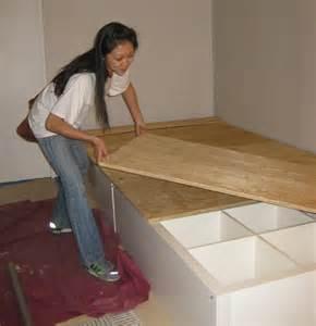 diy ikea storage bed ikea hack diy storage bed clossette