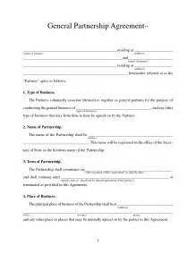 partnership template partnership agreement free printable documents