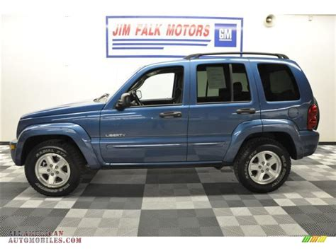 jeep liberty limited 2004 2004 jeep liberty limited 4x4 in atlantic blue pearl