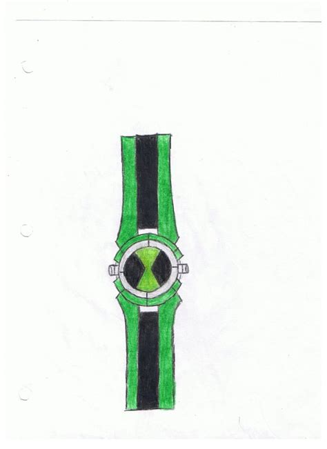 How To Make A Paper Ben 10 Omniverse Omnitrix - ben 10 omnitrix by watermummy7 on deviantart