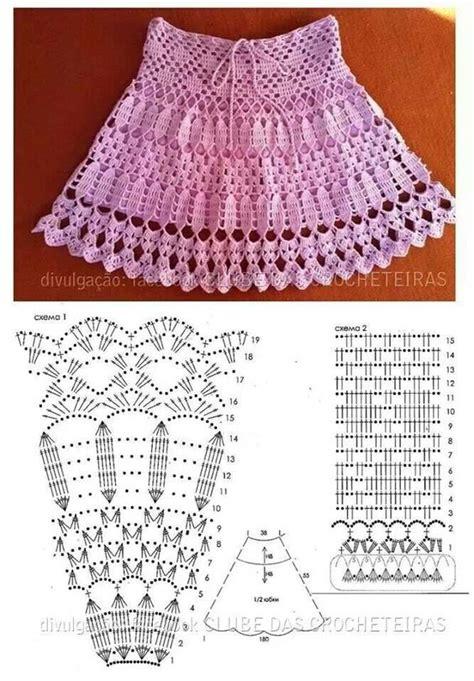 pattern crochet skirt crochet skirts crochet and patterns on pinterest