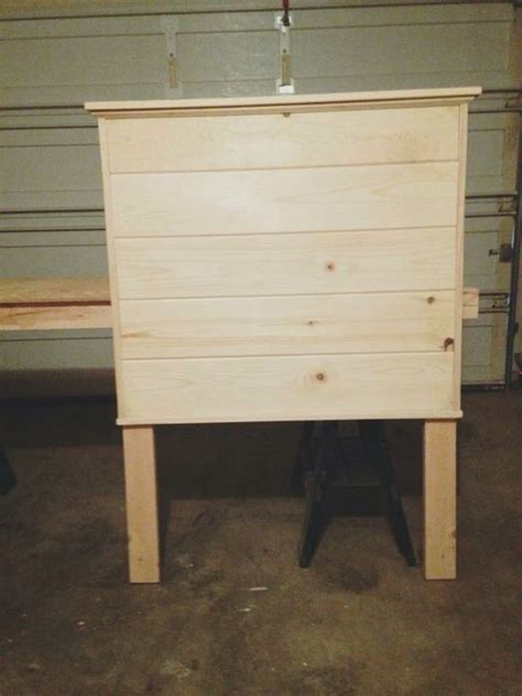 shiplap queen bed shiplap twin bed headboard for the home pinterest