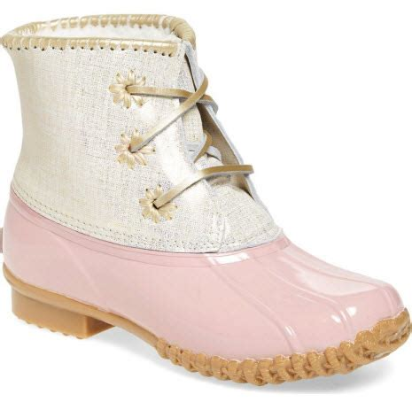 pink duck boots these pink duck boots a waitlist
