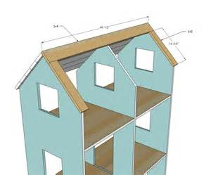 dollhouse floor plans american girl doll house plans free woodworking projects plans
